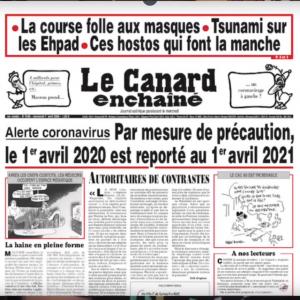 Photo canard enchaîné émission 2